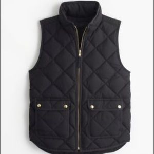 Jcrew Excursion Quilted Down Vest